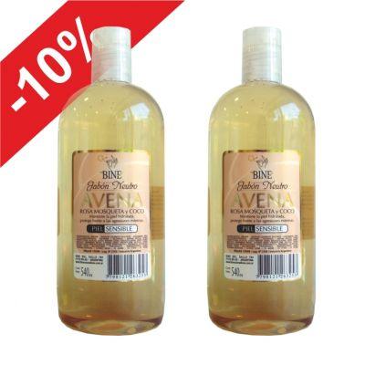 Gel de Ducha Avena 500 / +10% de Descuento