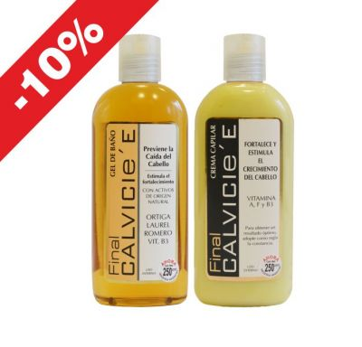 Final Calvicie Shampoo + Acondicionador