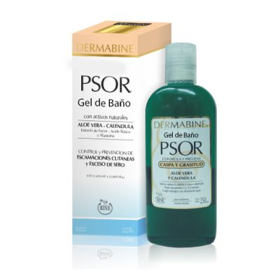 PSOR Gel Baño capilar 250cc / Shampoo for Scaly Skin 8.4 fl Oz